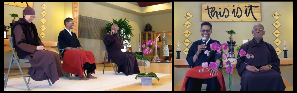 The Most Venerable Suhita Dharma, Rev. angel Kyodo williams & Sr. Huong Nghiem